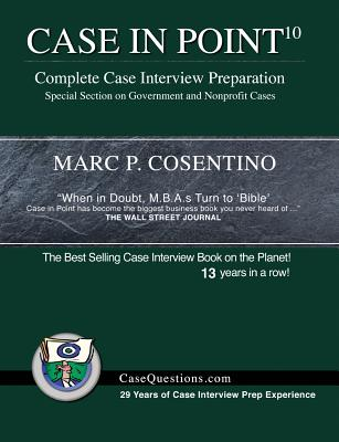 Case in Point 10: Complete Case Interview Preparation Cover Image