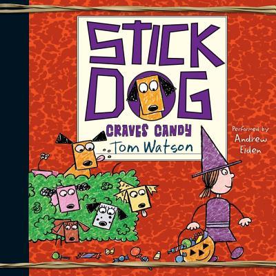 Stick Dog Craves Candy Lib/E Cover Image