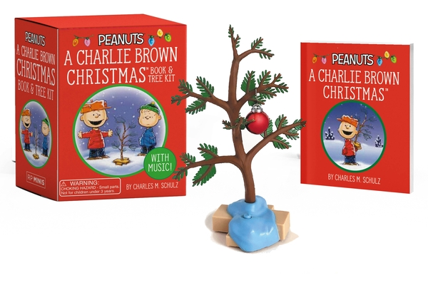A Charlie Brown Christmas: Book and Tree Kit: With music! (RP Minis) Cover Image