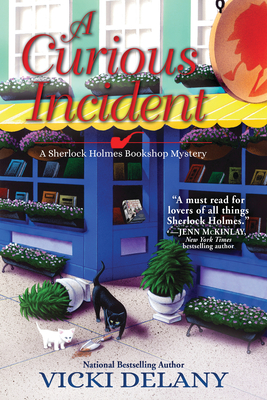 A Curious Incident: A Sherlock Holmes Bookshop Mystery Cover Image