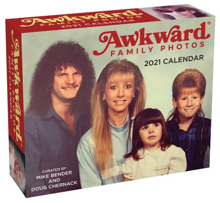 Awkward Family Photos 2021 Day-to-Day Calendar Cover Image