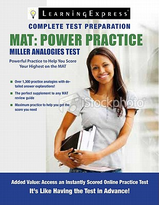 MAT: Power Practice Cover Image