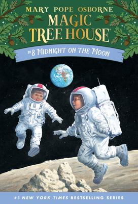 Midnight on the Moon (Magic Tree House (R) #8) Cover Image