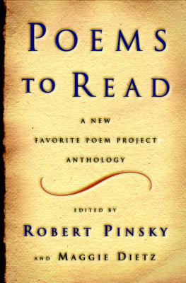 Poems to Read Cover