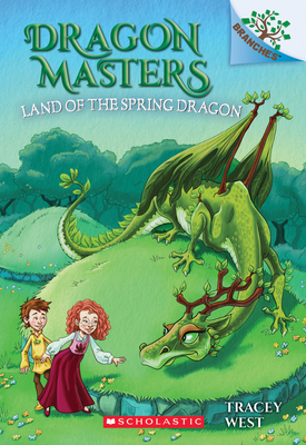 The Land of the Spring Dragon: A Branches Book (Dragon Masters #14) Cover Image