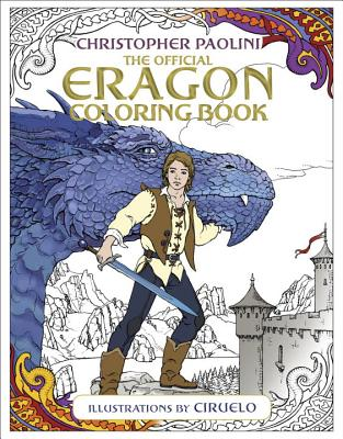 The Official Eragon Coloring Book Cover Image