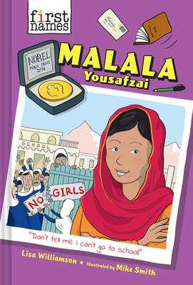 Malala Yousafzai (The First Names Series) Cover Image
