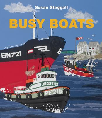 Busy Boats Cover