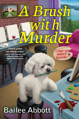 Cover for A Brush with Murder