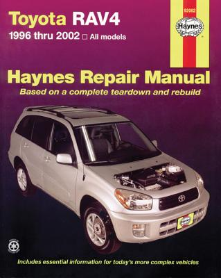 Toyota RAV4 1996 thru 2012 Haynes Repair Manual Cover Image