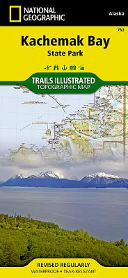 Kachemak Bay State Park (National Geographic: Trails Illustrated Maps #763) Cover Image