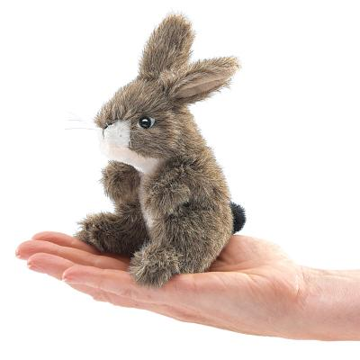 Mini Jack Rabbit Finger Puppet Cover Image