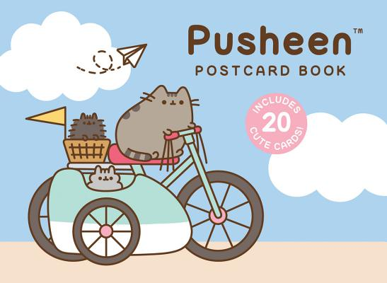Pusheen Postcard Book: Includes 20 Cute Cards! Cover Image