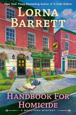 Handbook for Homicide (A Booktown Mystery #14) Cover Image