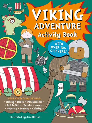 Viking Adventure Activity Book Cover Image