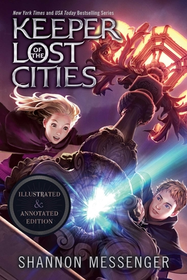 Keeper of the Lost Cities Illustrated & Annotated Edition: Book One Cover Image