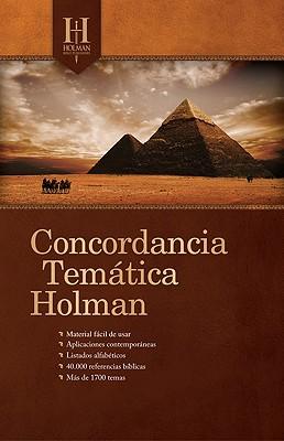 Concordancia Tematica Holman Cover