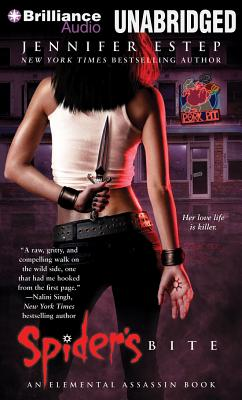 Spider's Bite (Elemental Assassin Books) Cover Image