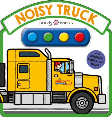 Noisy Truck Sound Book Cover Image