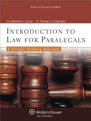 Introduction to Law for Paralegals Cover Image