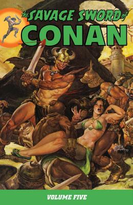 The Savage Sword of Conan Cover
