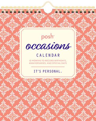 Posh: Occasions Calendar Cover Image