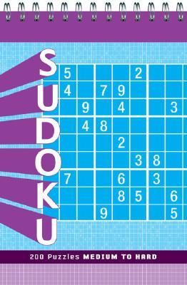 Sudoku: Medium to Hard Cover Image