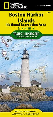 Boston Harbor Islands National Recreation Area (National Geographic Maps: Trails Illustrated #265) Cover Image