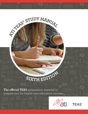 Ati Teas Review Manual: Sixth Edition Revised Cover Image