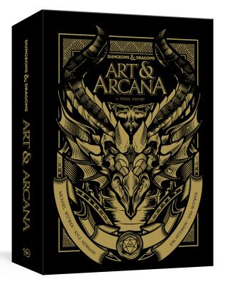 Dungeons and Dragons Art and Arcana [Special Edition, Boxed Book & Ephemera Set]: A Visual History Cover Image