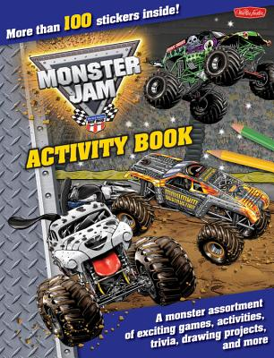 Monster Jam Activity Book Cover
