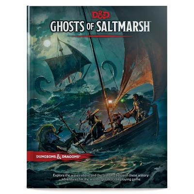 Dungeons & Dragons Ghosts of Saltmarsh Hardcover Book (D&D Adventure) Cover Image