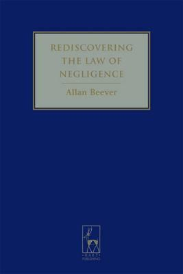 Rediscovering the Law of Negligence Cover Image