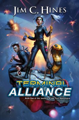 Terminal Alliance (Janitors of the Post-Apocalypse #1) Cover Image