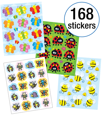 Bees, Bugs & More Sticker Collection Cover Image