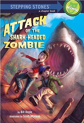 Attack of the Shark-Headed Zombie Cover