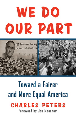 We Do Our Part: Toward a Fairer and More Equal America Cover Image