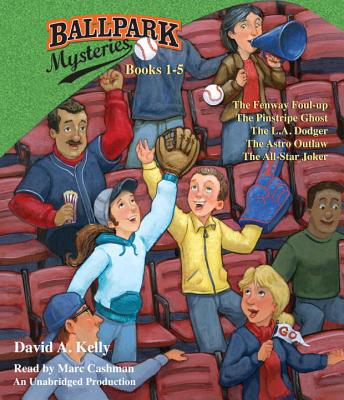 Ballpark Mysteries, Books 1-5 Cover