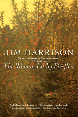 The Woman Lit by Fireflies Cover