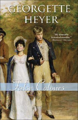 Cover for False Colours (Regency Romances #23)