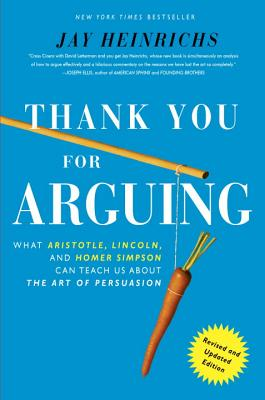 Thank You for Arguing Cover