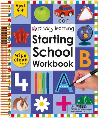 Wipe Clean: Starting School Workbook Cover Image