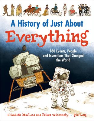 A History of Just About Everything: 180 Events, People and Inventions That Changed the World Cover Image