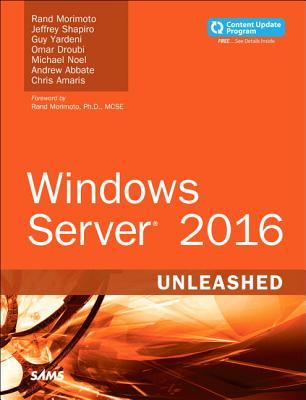Windows Server 2016 Unleashed (Includes Content Update Program) Cover Image