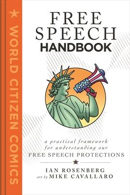 Cover for Free Speech Handbook (World Citizen Comics)