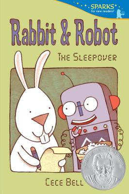 Rabbit and Robot: The Sleepover (Candlewick Sparks) Cover Image