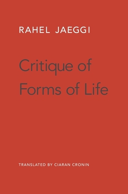 Critique of Forms of Life Cover Image