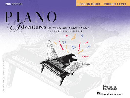 Piano Adventures, Primer Level, Lesson Book Cover Image