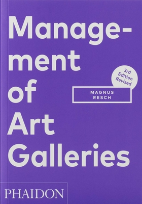 Management of Art Galleries Cover Image