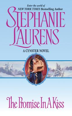 The Promise in a Kiss (Cynster Christmas Novel) Cover Image